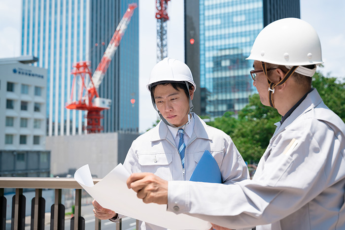 求職者、必見!土木施工管理で、身に付くスキルとステップアップ!